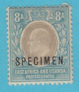 BRITISH EAST AFRICA 8 - SPECIMEN O/P - MINT HINGED OG *  NO FAULTS VERY FINE !