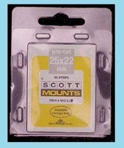 Scott Mounts Clear 25/22, Pgk. 40 ea. (00903C)*