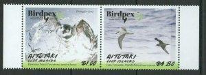 Aitutaki 2018 birds set MNH