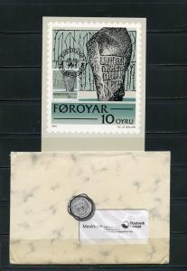 FAROE ISLANDS 1981 OFFICIAL MAXIMUM CARD SET