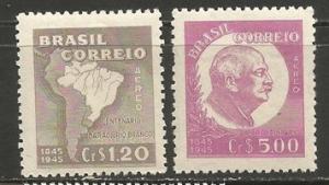 BRAZIL C62-63 MNH T846