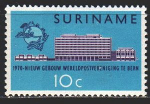 Suriname. 1970. 577 from the series. 100 years of the UPU. MLH.