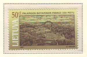 Lithuania Sc 573 1997 Palanga Park stamp mint NH