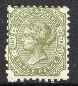 South Australia: 1883-99 QVI 3d SG 183 mint