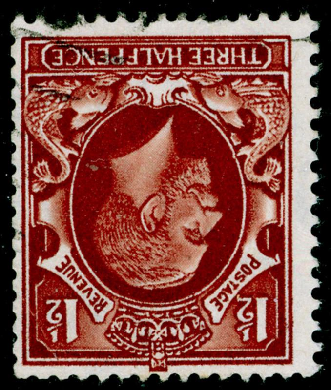 SG441Wi, 1½d red-brown, FINE USED. WMK INV