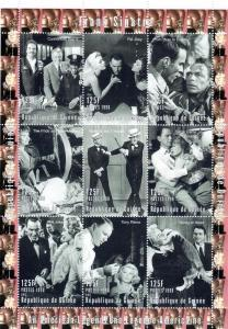 Guinea 1998 Frank Sinatra-Play Chess-Shlt MNH Mi #1753-1761