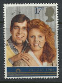Great Britain SG 1334 - Used - Royal Wedding