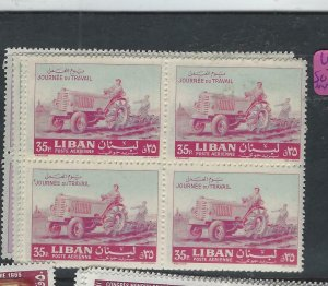 LEBANON   (PP3101B)       SG  746-9     BL OF 4   MNH