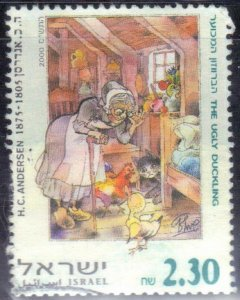 ISRAEL SCOTT# 1395 USED 2.30s  2000 UGLY DUCKLING SEE SCAN