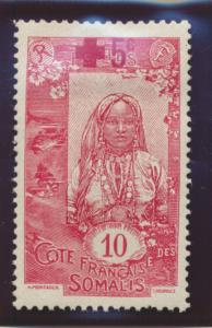 Somali Coast (Djibouti) Stamp Scott #B1, Mint Hinged - Free U.S. Shipping, Fr...