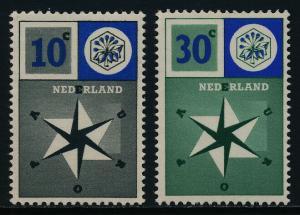 Netherlands 372-3 MNH United Europe
