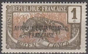 Middle Congo #23 F-VF Unused  (V4142)