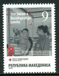 284 - MACEDONIA 2018 - Red Cross - MNH Set