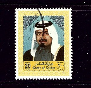 Qatar 803 Used 1992 issue  couple short perfs