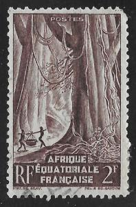 French Equatorial Africa #175 2fr Gabon Forest