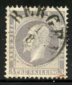 Norway # 3, Used. CV $ 120.00.