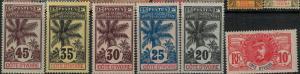 Ivory Coast 1913-1935 SC 42-77 Mint/MNH SCV $130.00 Set