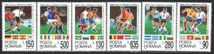 Romania. 1994. 4992-97. Soccer World Cup. MNH.