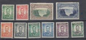 Southern Rhodesia KGVI 1938 Set To 1/- MH JK412
