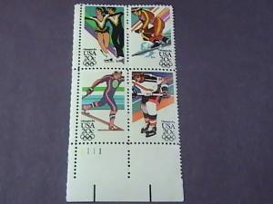 U.S.# 2067-2070(2070a)-MINT/NH--LL PLATE #  BLOCK OF 4--1984 OLYMPICS--1984