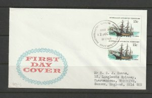AAT 1980 FDC, the 15c value ( Nimrod) issued later than the main set, Davis canc