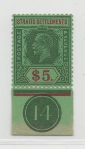 Malaya Straits Settlements - 1921 - SG 240a - MNH