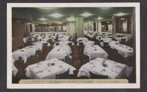 Unused Postcard: New York City – McGinnis Restaurant on 48th Street