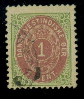 Danish W Indies #16 Used F-VF Cat$22.50