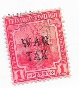 Trinidad & Tobago #MR3  War Tax (U) CV$2.25