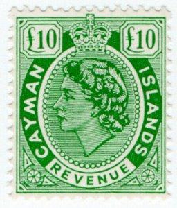 (I.B) Cayman Islands Revenue : Duty Stamp £10