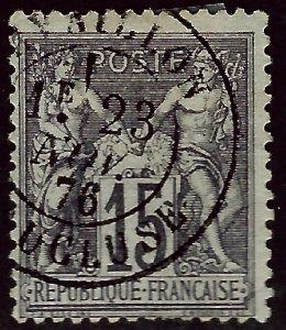 France.#69 Used F-VF hr/sh perf...Bid to Win!!