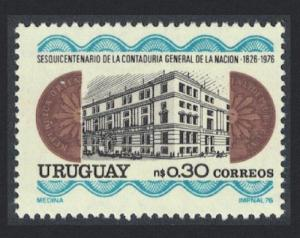 Uruguay 150th Anniversary of State Accounting Office SG#1652
