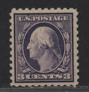 $US Sc#464 M/LH/VF, perf 10, unwmk, Cv. $65