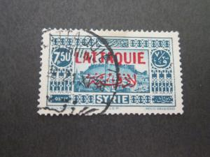 French Latakia 1931 Sc 17 FU