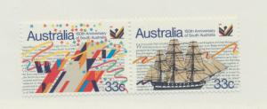 Australia Scott #974 To 975, Mint Never Hinged MNH, South Australia Issue Fro...