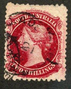 South Australia, Scott #53, Used