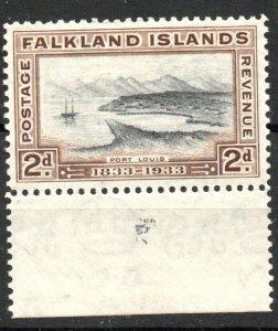 Falkland Islands 1933 Scott #68 Mint *Hinged/Unused*