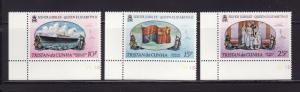 Tristan Da Cunha 213-215 Set MNH Various (A)