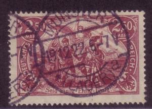 Germany Sc.# 114   Mi.# 115d Used CV $250.00
