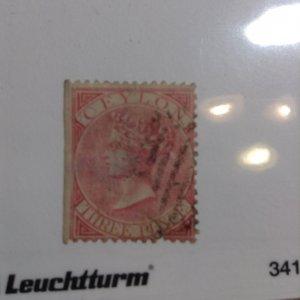 Ceylon  # 62  Used