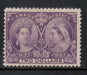 Canada #62 Mint Fine Original Gum Hinged  **With Certificate**