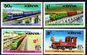 Kenya #64-7 MNH CV $4.00  (P692)