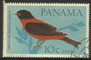 Panama Air Mail 1965 Scott# C338 CTO hinged