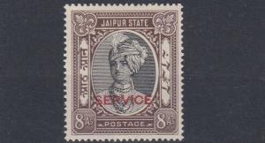 JAIPUR 1943      S G 029   8A  BLACK &  CHOCOLATE         MH