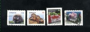 Canada #2604, 2605, 2615, 2623,   u  2013  PD