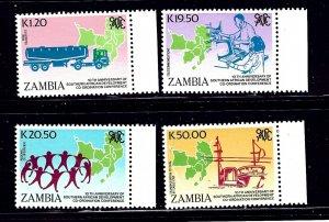 Zambia 511-14 MNH 1990 SADCC    (ap1084)