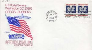 United States, First Day Cover, Officials