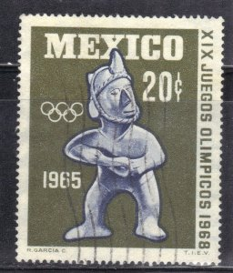MEXICO  SC# 965 **USED** 20c  1965    SEE SCAN