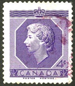 CANADA #330 USED