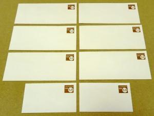 U591, 5.9c U.S. Postage Envelope qty 8